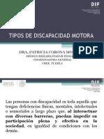 Tipos de Discapacidad Motora