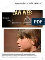 Lawweb.in-guidelines for Examination of Child Victim of Sexual Assault