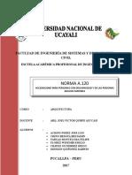 Norma A.120