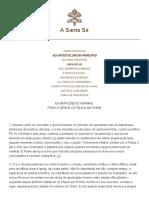 Pio XII Ad Apostolorum Principis