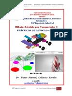 Practicas de Autocad 2015- 2015-i