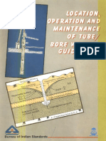 Location Operation and Maintenance of TubeBoreWells_Guidelines_BIS_1994