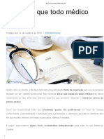 10 Livros Que Todo Médico Deve Ler