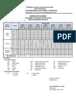 Jadwal Pembelajaran TA