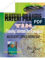 E-books-TIK Dasar Microsoft Word