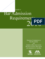 CompGuide Bar Admissions 2010