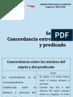 Sesion5_Concordancia Entre Sujeto y Predicado