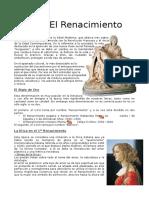 Tema 8 El Renacimiento