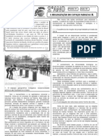 Geografia - Pré-Vestibular Impacto - Organização do Espaço Indígena II