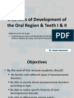 1- Developmental Disturbances I & II