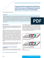 Use of LFET to Detect and Quantify Deposits