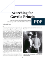 Searching for Gavrilo PRINCIP