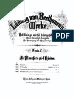 Sonata Op.6 Beethoven 4 Manos