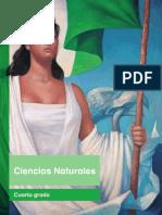 Ciencias Naturales Cuarto Grado ciclo 2017-2018