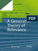 (the Information Retrieval Series 26) Victor Lavrenko (Auth.)-A Generative Theory of Relevance-Springer-Verlag Berlin Heidelberg (2009)