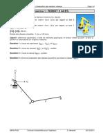 TD 11 - Cinématique Graphique - Composition Des Vecteurs Vitesses