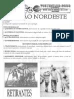 Geografia - Pré-Vestibular Impacto - Região Nordeste - Histórico dos Fluxos Migratórios