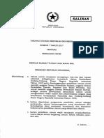 UU Nomor 7 Tahun 2017 - Batang Tubuh - Hal. 1-150