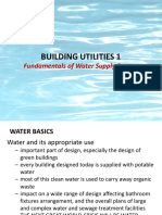Lecture 1 Fundamentals of Water Supply Systems 2