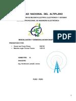 INFORME Modulador y Demodulador