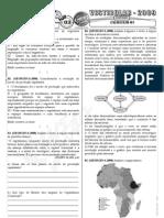 Geografia - Pré-Vestibular Impacto - Sistema Econômico Capitalista - Exercícios