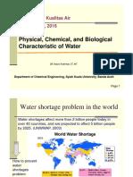Penge Kualitas Air - Water Quality