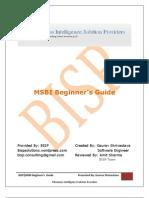 MSBI Beginer's Guide