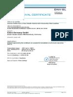 Agency Approvals Spiral 2755_DNVGL