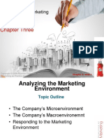 Chapter  3:Analyzing the Marketing Environment