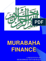 Murabaha Finance by Muhammad Tayyab Raza