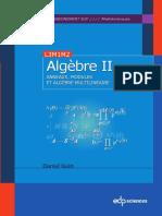 Daniel Guin-Algèbre _ Tome 2, Anneaux, modules et algèbre multilinéaire. 2-EDP Sciences (2013)