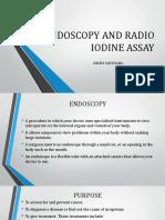 Endoscopy and Radio Iodine Assay Ppt