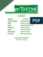 Script - Tarzan (Nl) - Dutch Libretto