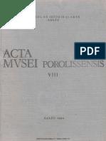 08. Acta Mvsei Porolissensis, VIII (1984)-Zalau.pdf