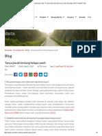 Tanya Jawab Tentang Kelapa Sawit - PT Sinar Mas Agro Resources and Technology Tbk (PT SMART Tbk)