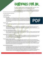 Manual Kit de Plantio de Plantas Carnívoras
