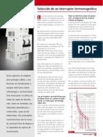 Siemens Selección de un interruptor termomagnético nota_tecnica