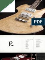 2015 BCRich Catalog