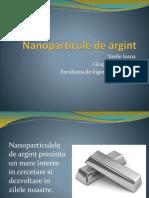 Nanoparticule de Argint