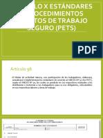 Capítulo x Estándares y Procedimientos Escritos de Trabajo