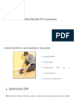 Capacitación EPP