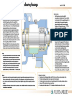 pump bearing housing bp poster