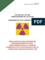 Procedimiento de Emergencia Para Fuente de Cobalto-60