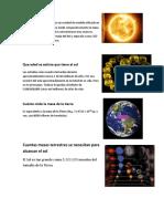La Masa Solar