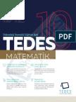 Tedes 10. Sınıf Matematik Konu Anlatımı