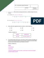 Prueba T-1 y Soluciones 2a