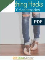 7 Clothing Hacks 3 DIY Accessories eBook
