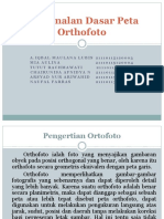 Pengenalan Dasar Peta Orthofoto