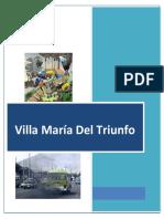 Villa Maria Del triunfo Contaminacion