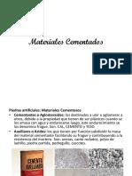 Materiales Cementados
